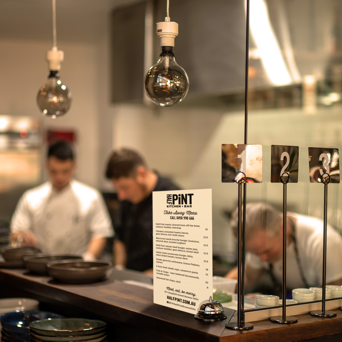 Half Pint Kitchen by Alex Curson